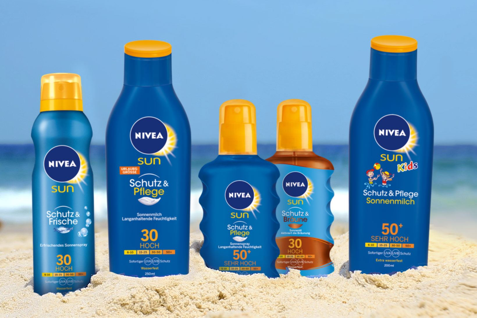 NIVEA Sun Care Products